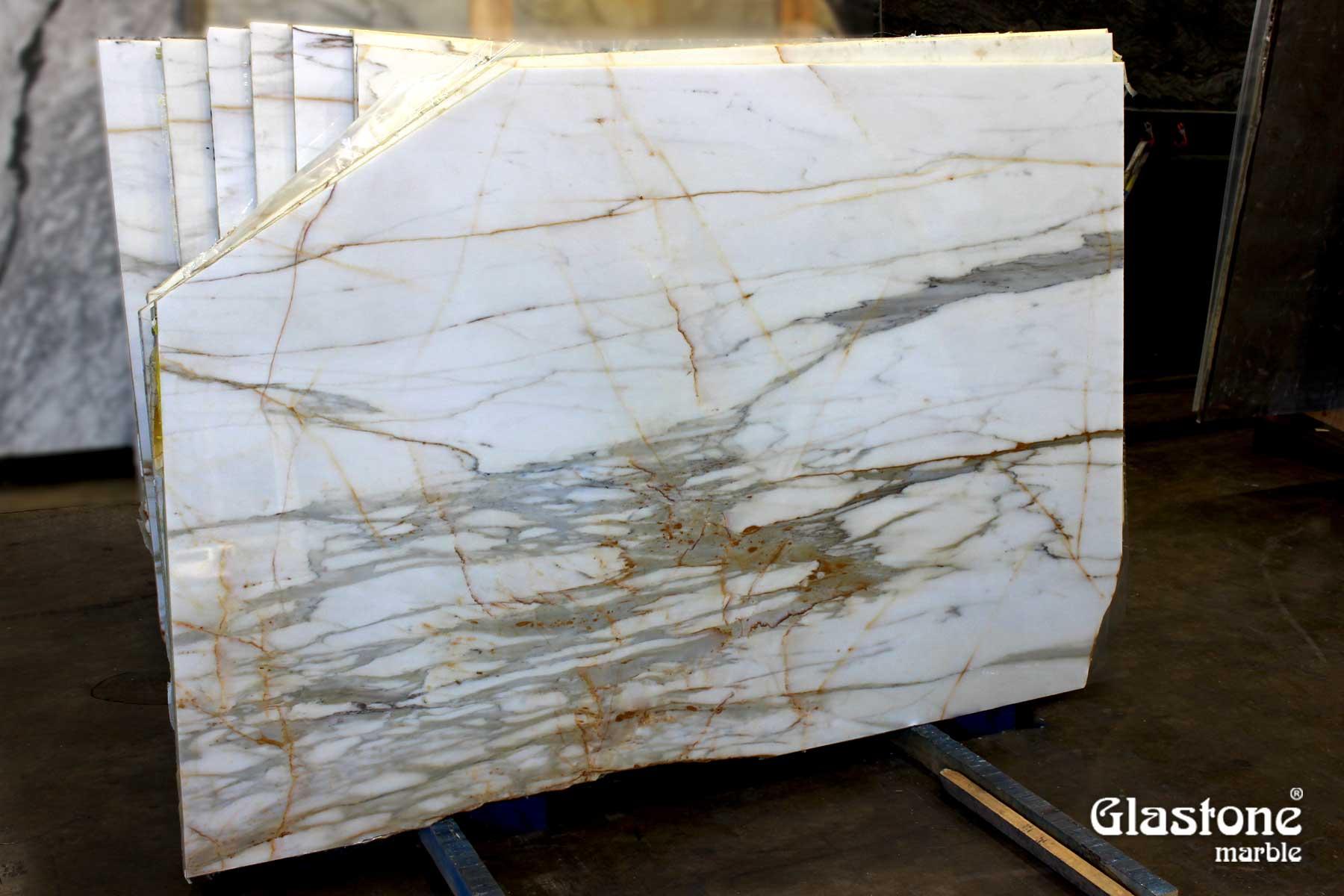 glastone marble marmol solerialaminado vidrio marmol natural calacatta oro