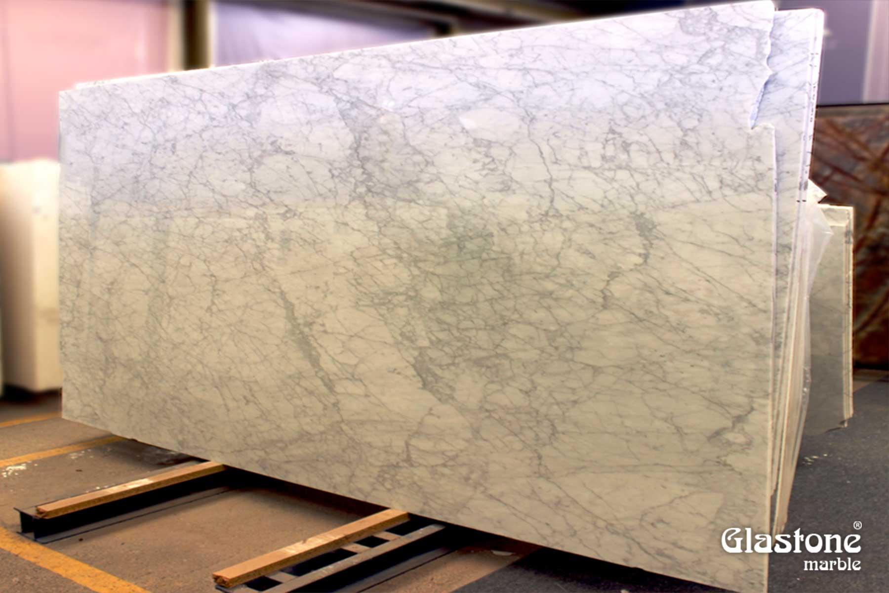 glastone marble marmol solerialaminado vidrio marmol natural blanco carrara