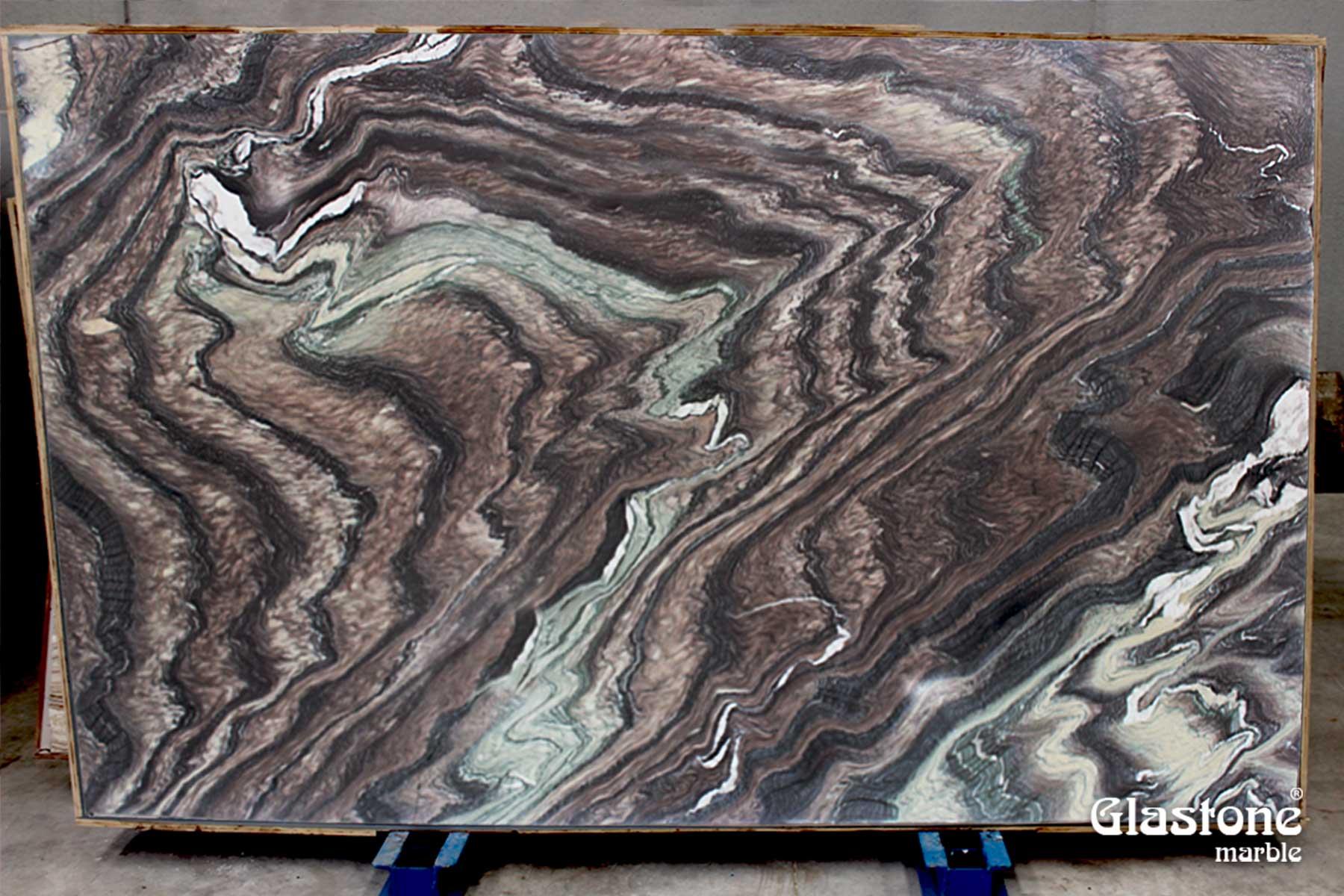 glastone marble marmol solerialaminado vidrio marmol natural cipollino ondulato rosso